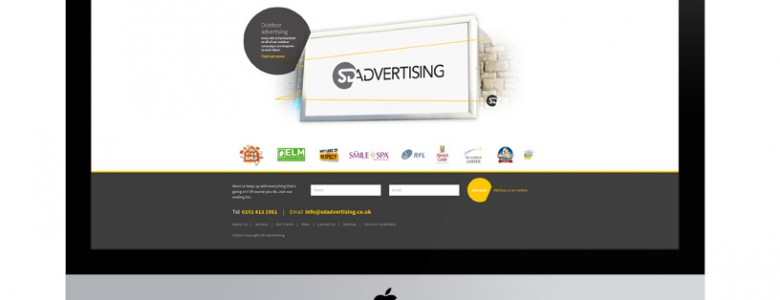 SD Advertising New Website by Inspired Agency